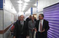 وفد يمثل شركة نوفارتس السويسرية في العراق يزور جمعية الايثار للثلاسيميا ويلتقي السيد الطالقاني